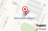 Схема проезда до компании Магнит в Медведево