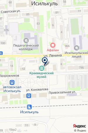 АПТЕКА НАТУР ПРОДУКТ-ИРТЫШ на карте Исилькуля