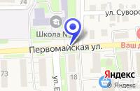 Схема проезда до компании МАГАЗИН ПРОДУКТЫ в Исилькуле