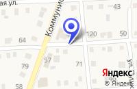 Схема проезда до компании ПРОДОВОЛЬСТВЕННЫЙ МАГАЗИН КОРМИЛЕЦ в Исилькуле