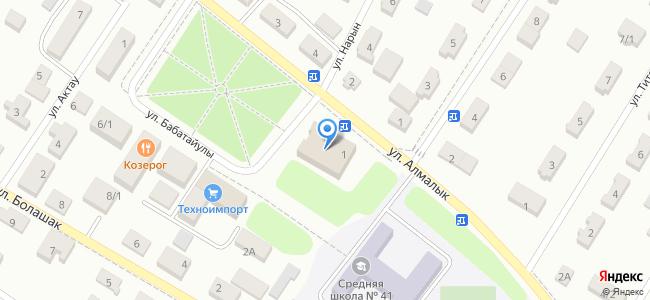 Казахстан, Нур-Султан (Астана), микрорайон Коктал, улица Алмалык, 1