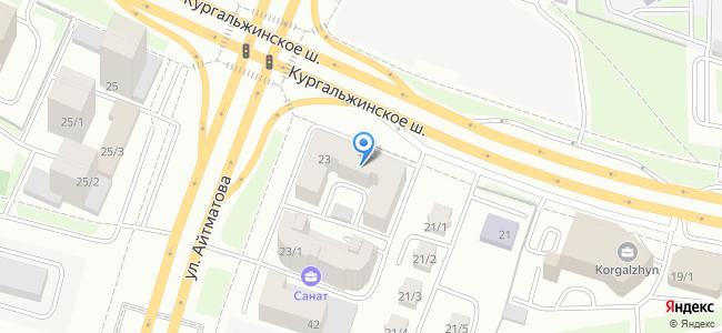 Казахстан, Нур-Султан (Астана), Кургальжинское шоссе, 23