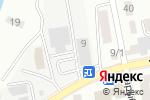 Схема проезда до компании Центр линолеума в Астане