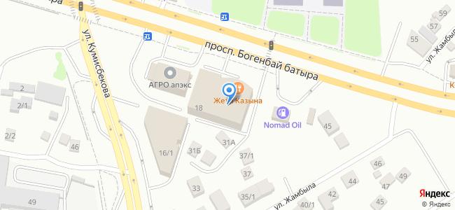 Казахстан, Нур-Султан (Астана), проспект Богенбай батыра, 18