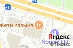Схема проезда до компании Узбечка №7 в Астане