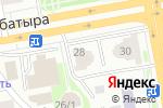 Схема проезда до компании ХАМЕЛЕОН в Астане