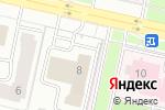 Схема проезда до компании Управление по чрезвычайным ситуациям района Есиль в Астане