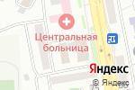 Схема проезда до компании Сибирский институт бизнеса и информационных технологий в Астане