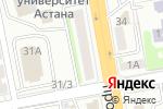 Схема проезда до компании Око в Астане