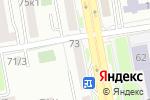 Схема проезда до компании Айя-дент в Астане