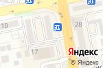 Схема проезда до компании АльфаМед в Астане