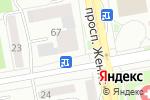 Схема проезда до компании Золотой ключик в Астане