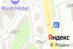 Схема проезда до компании Бутик нижнего белья в Астане