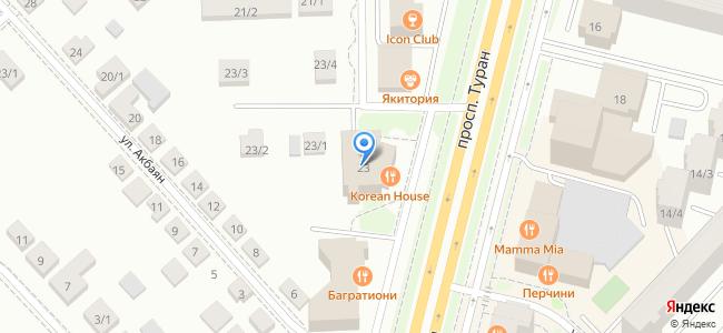 Казахстан, Нур-Султан (Астана), проспект Туран, 23