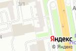Схема проезда до компании KazArt в Астане