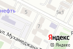 Схема проезда до компании Омарова А.М. в Астане