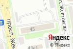 Схема проезда до компании АлинаТур в Астане