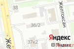 Схема проезда до компании Акмолинский учебно-курсовой комбинат в Астане