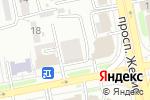 Схема проезда до компании Akcent в Астане