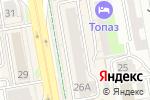 Схема проезда до компании Тархан-Шанырак, КСК в Астане