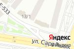 Схема проезда до компании ДВЕРИ KZ в Астане