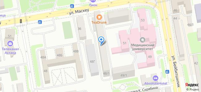 Казахстан, Нур-Султан (Астана), улица Желтоксан, 48/1