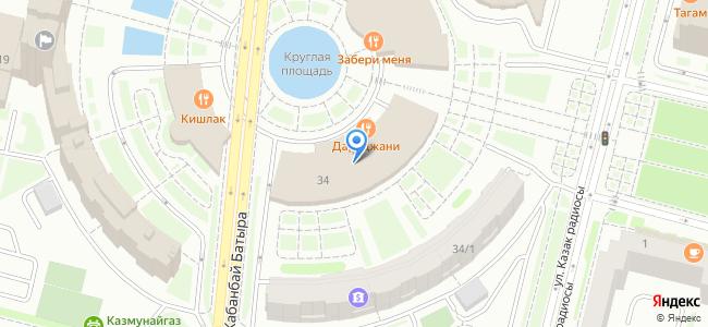 Казахстан, Нур-Султан (Астана), проспект Кабанбай Батыра, 34
