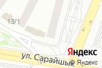 Схема проезда до компании KZline, ТОО в Астане