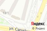 Схема проезда до компании Khan El-Khalili в Астане