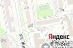 Схема проезда до компании Нотариус Кажибеков Е.З в Астане