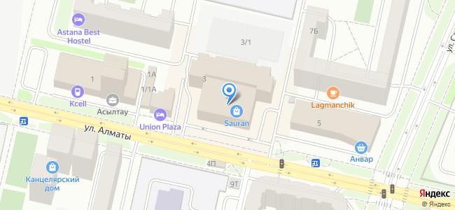 Казахстан, Нур-Султан (Астана), улица Алматы, 3