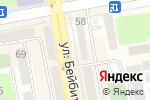 Схема проезда до компании Нотариус Тлеубаев К.Ж. в Астане