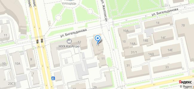 Казахстан, Нур-Султан (Астана), улица Желтоксан, 13