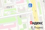 Схема проезда до компании ГАРМОНИЯ в Астане