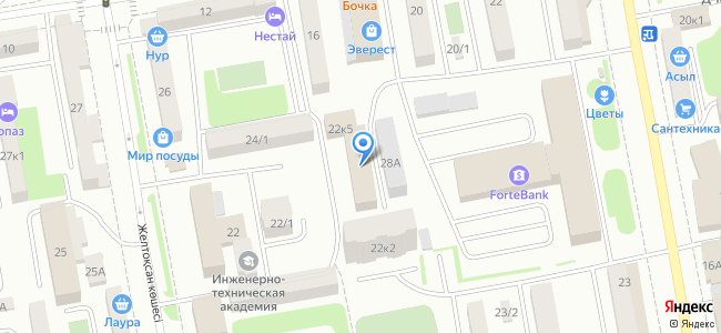 Казахстан, Нур-Султан (Астана), улица Желтоксан, 22к3
