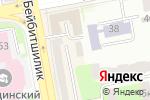 Схема проезда до компании ГаварСтройИнвест, ТОО в Астане
