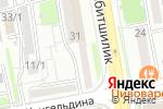 Схема проезда до компании Optic home в Астане