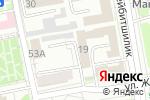 Схема проезда до компании Бюро регистрации несчастных случаев в Астане