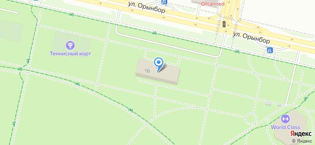 Казахстан, Нур-Султан (Астана), улица Орынбор, 16
