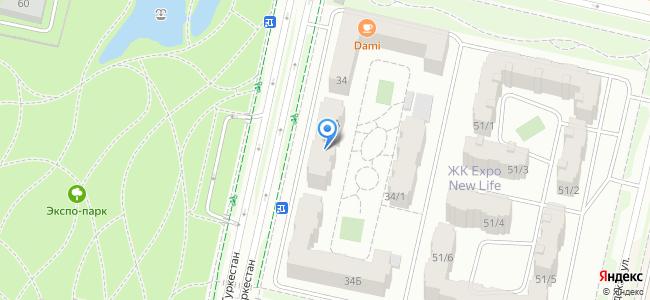 Казахстан, Нур-Султан (Астана), улица Туркестан, 34А