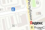 Схема проезда до компании Нотариус Ерзакова К.Т. в Астане