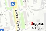 Схема проезда до компании Идрисов Е.А. в Астане