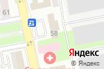 Схема проезда до компании ЕркінҚұрылысАстана в Астане