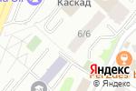 Схема проезда до компании А-фишка в Астане