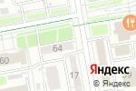 Схема проезда до компании Диона в Астане