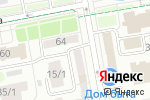 Схема проезда до компании Фортуна в Астане