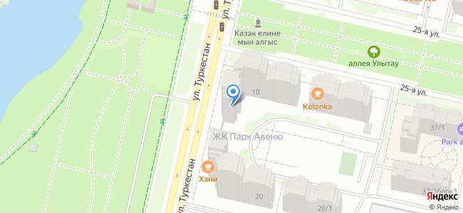 Казахстан, Нур-Султан (Астана), улица Туркестан, 18