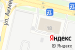 Схема проезда до компании Golden Way в Астане