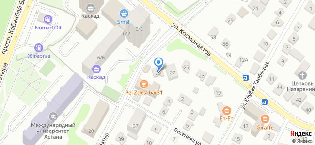 Казахстан, Нур-Султан (Астана), микрорайон Шубар, улица Жекебатыр, 29