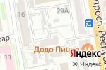 Схема проезда до компании АДАЛ, КСК в Астане